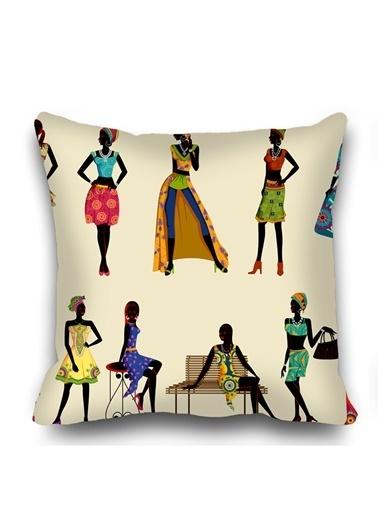 Kozzy Home Dekoratif Yastık Kılıfı Renkli
